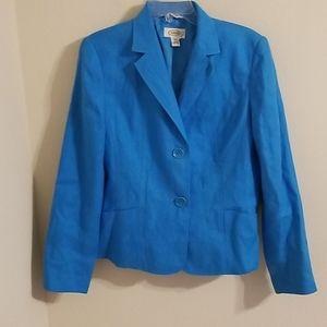 NWOT Talbots Irish Linen Jacket